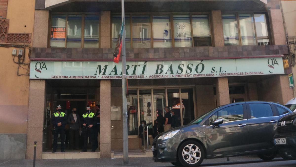 L'edifici de Girona on han trobat la dona morta