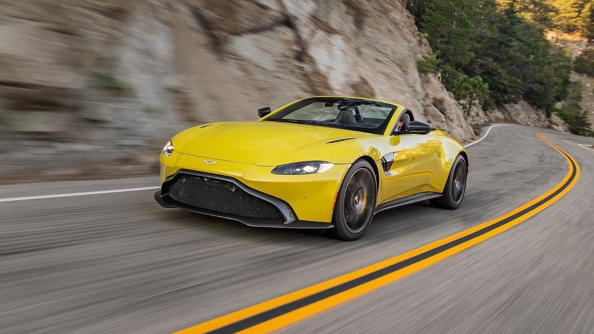 Aston Martin Vantage Roadster 2021: más de 170 fotos en una súper galería