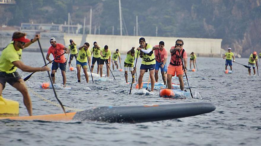 Blanes tanca un cap de setmana rodó abraçant el «paddle surf»