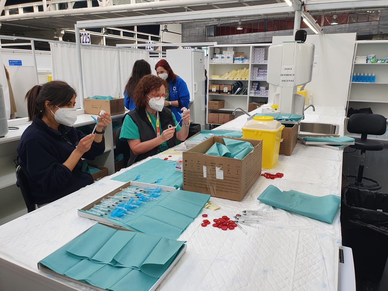 43.500 personas citadas en A Coruña para vacunarse contra el COVID