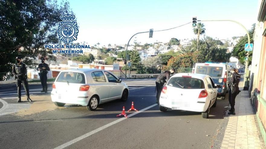 Dos detenidos en Tenerife por la posesión de droga y ansiolíticos