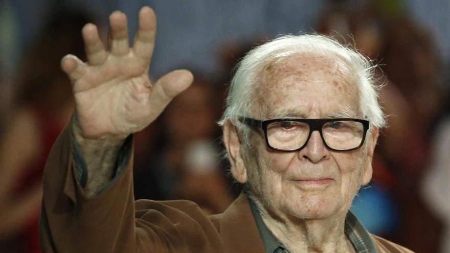Muere el diseñador Pierre Cardin a los 98 años