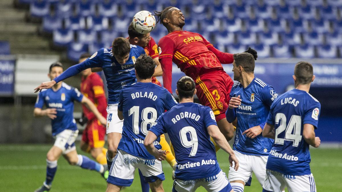 Real Oviedo - Zaragoza, en imágenes