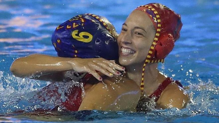 Gran debut de la selección femenina de waterpolo ante Grecia en el Mundial