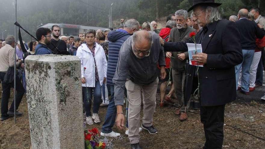 La Asociación de Memoria Histórica prepara el homenaje a los Mártires de Anguieiro