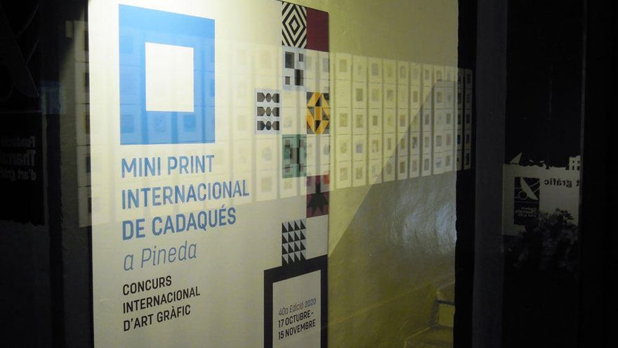 El Mini Print de Cadaqués s'exposa a França a partir del mes de desembre