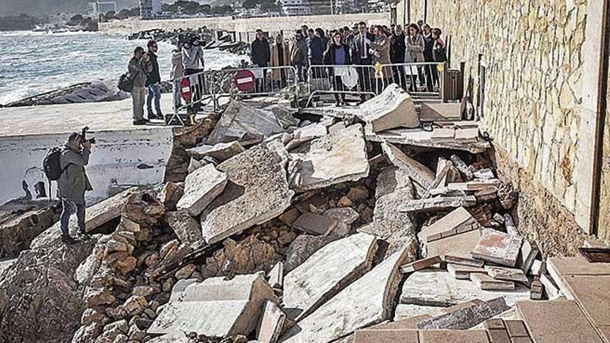 Madrid destina 4,4 millones a reparar los daños causados por 'Gloria' en Baleares