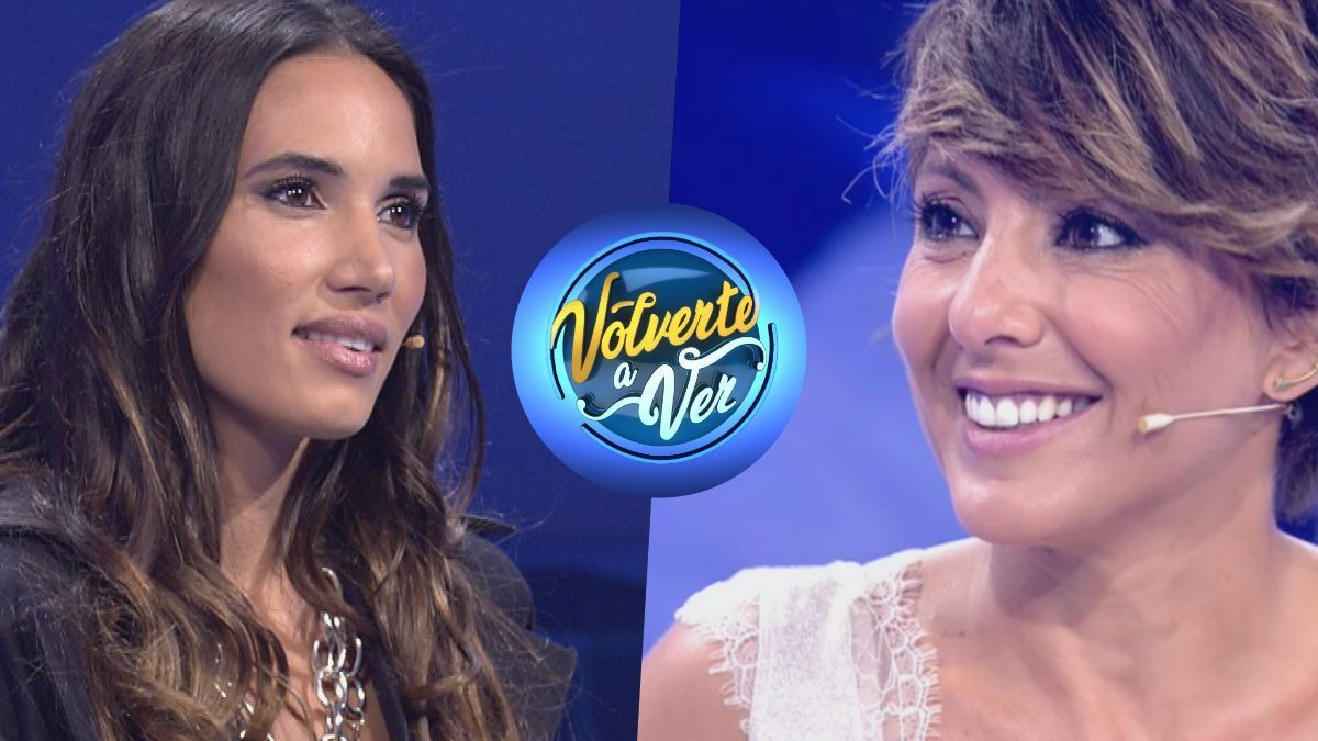 India Martínez and Sonsoles Ónega, first guests of the new season of 'Volverte a ver'.