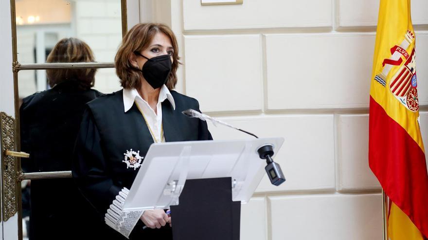 """Delgado destaca el trabajo de la Fiscalía frente a los """"juicios de intenciones"""" sobre su labor"""