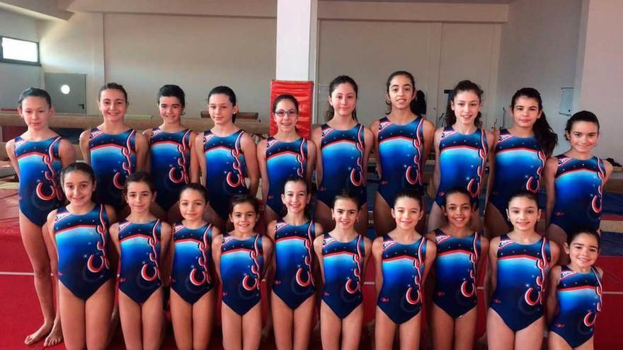 Trofeo de promoción de gimnasia femenina