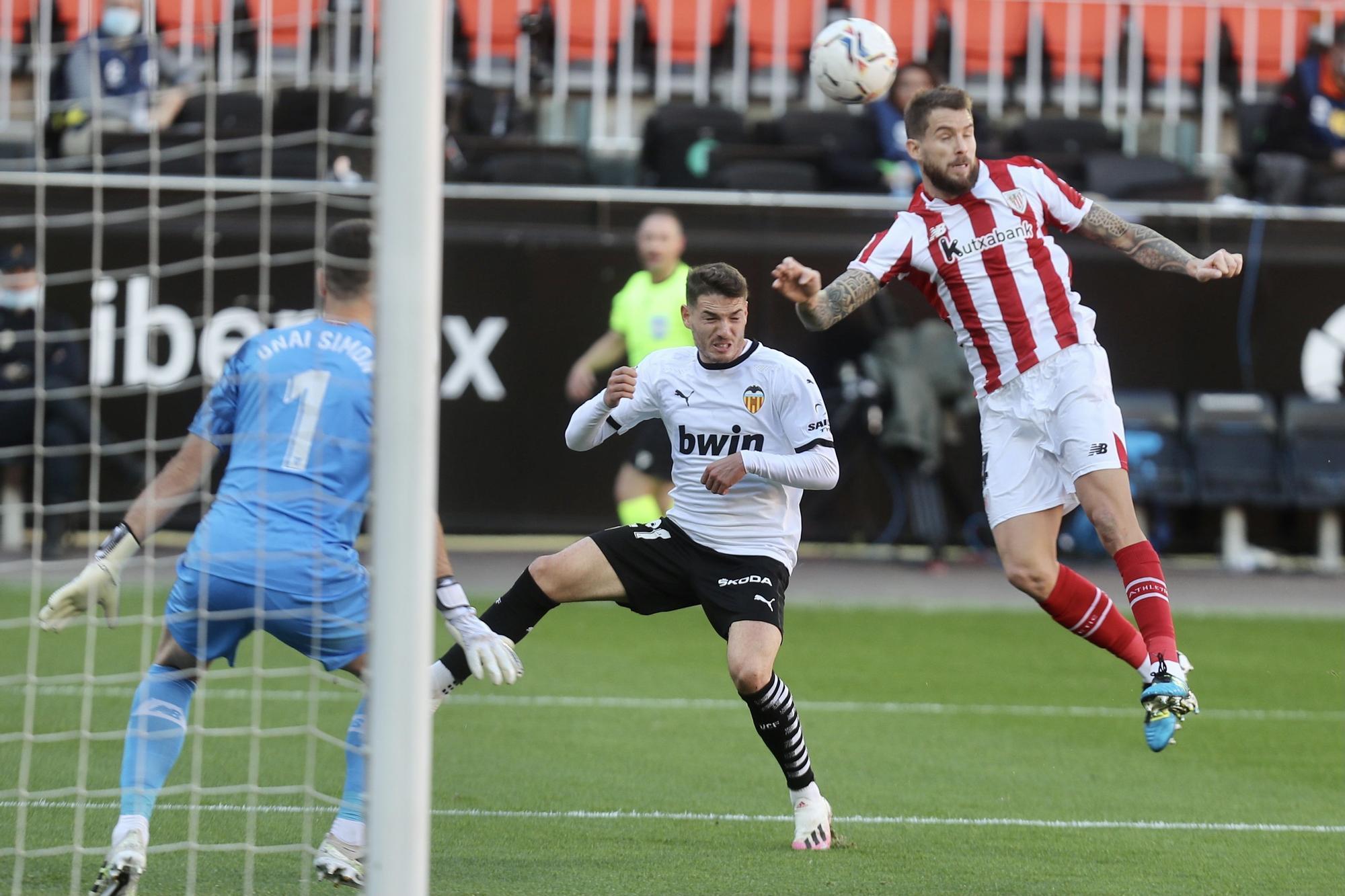 Valencia CF - Athletic de Bilbao (2-2)