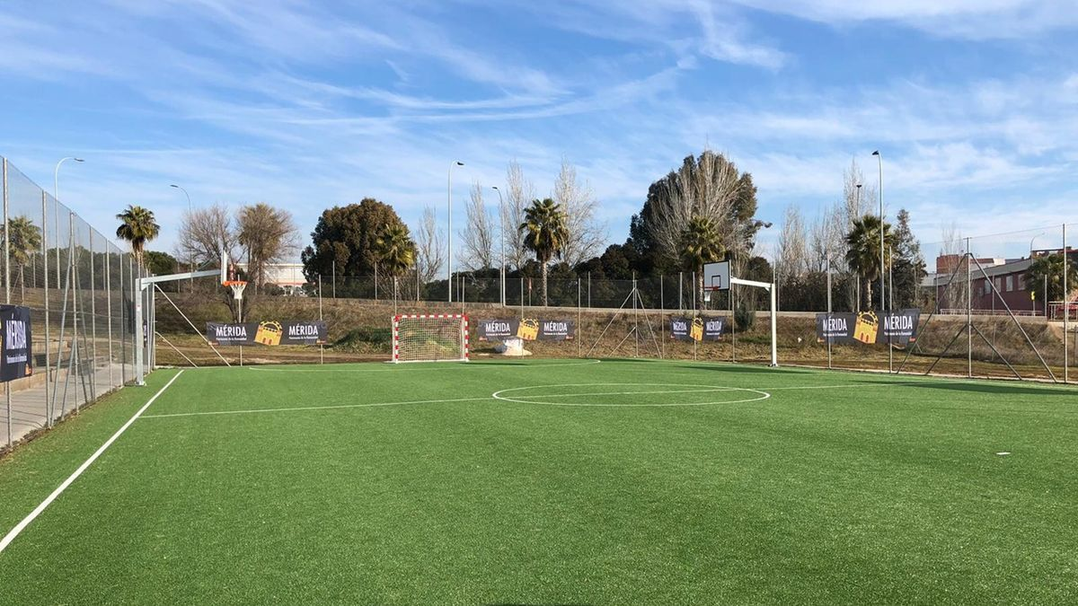 Instalaciones del complejo deportivo de La Paz.