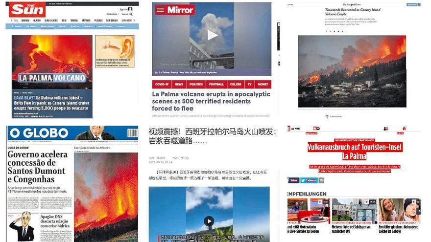 La prensa internacional habla de «pánico» y «escenas apocalípticas»