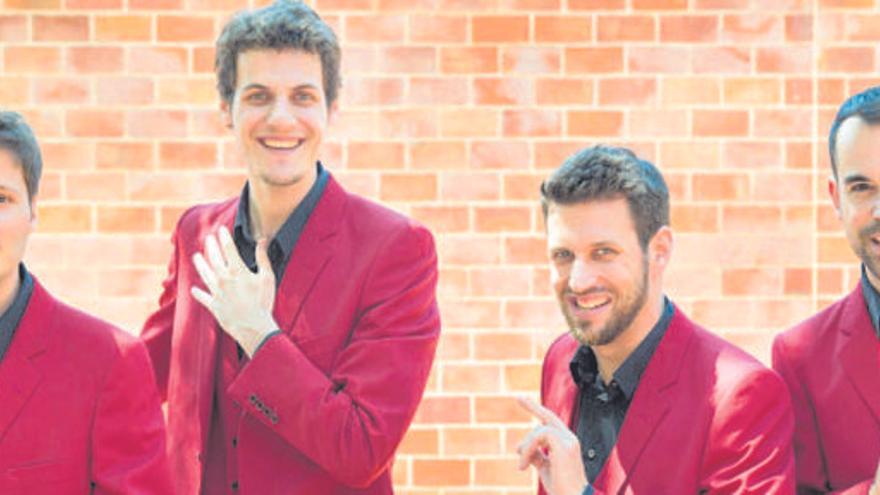 Les Fourchettes i The Hanfris Quartet actuaran al Girona A Capella
