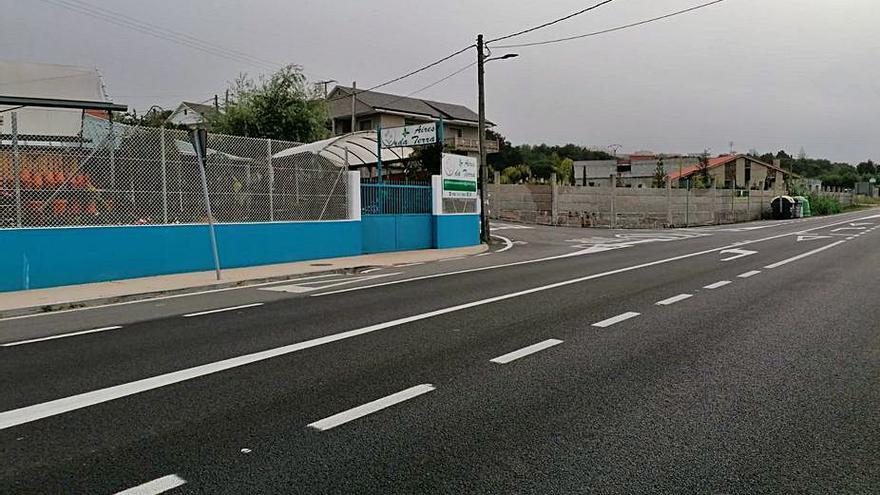 Poio plantea a la Xunta un paquete de mejoras en la carretera PO-308