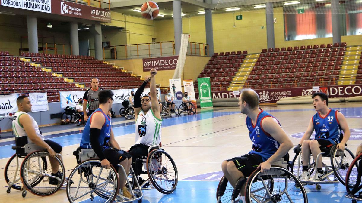 Andalucía logra el título nacional sub 22 de baloncesto en silla