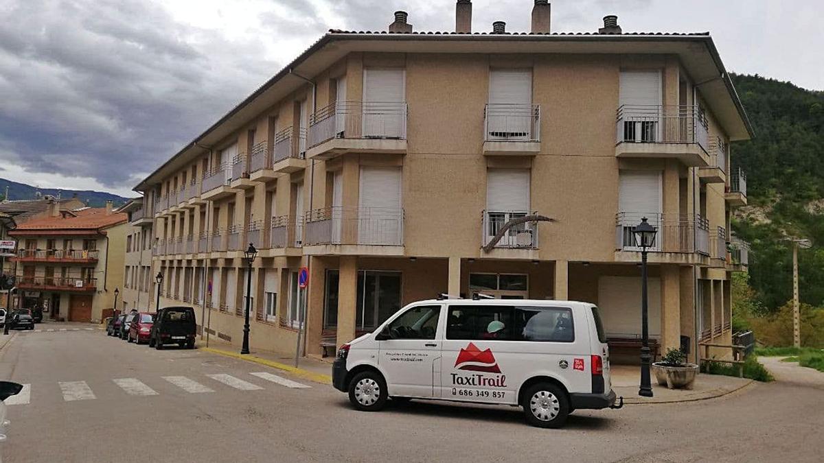 Un vehicle del servei de Transport a Demanda que connectarà l'Alt Berguedà amb el CAP | CONSELL COMARCAL