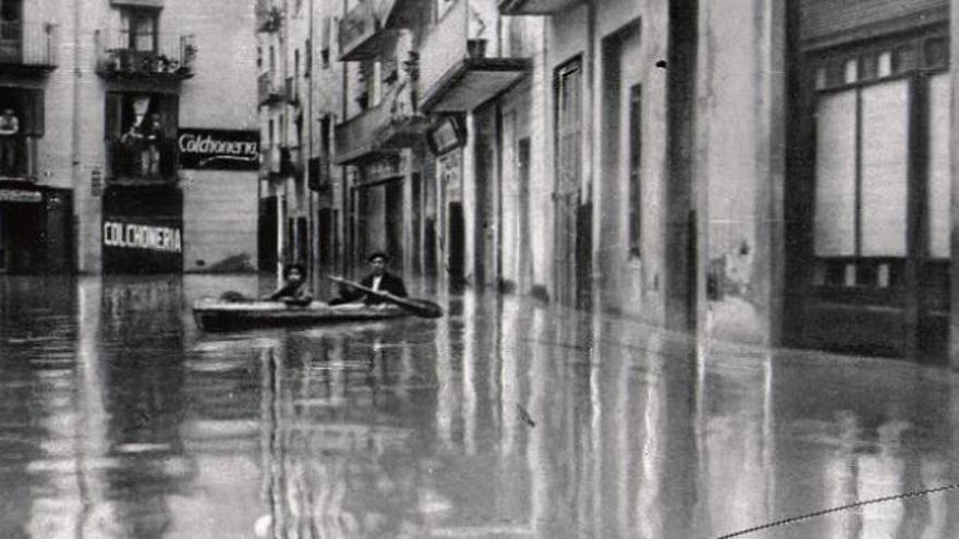 Quan Girona s'inundava