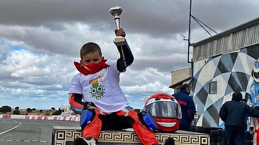 Marco González revalida su título de campeón de Castilla y León