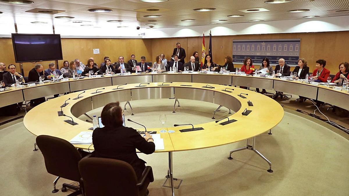 Reunión del Consejo de Política Fiscal y Financiera durante el año pasado. |   // EFE/KIKO HUESCA