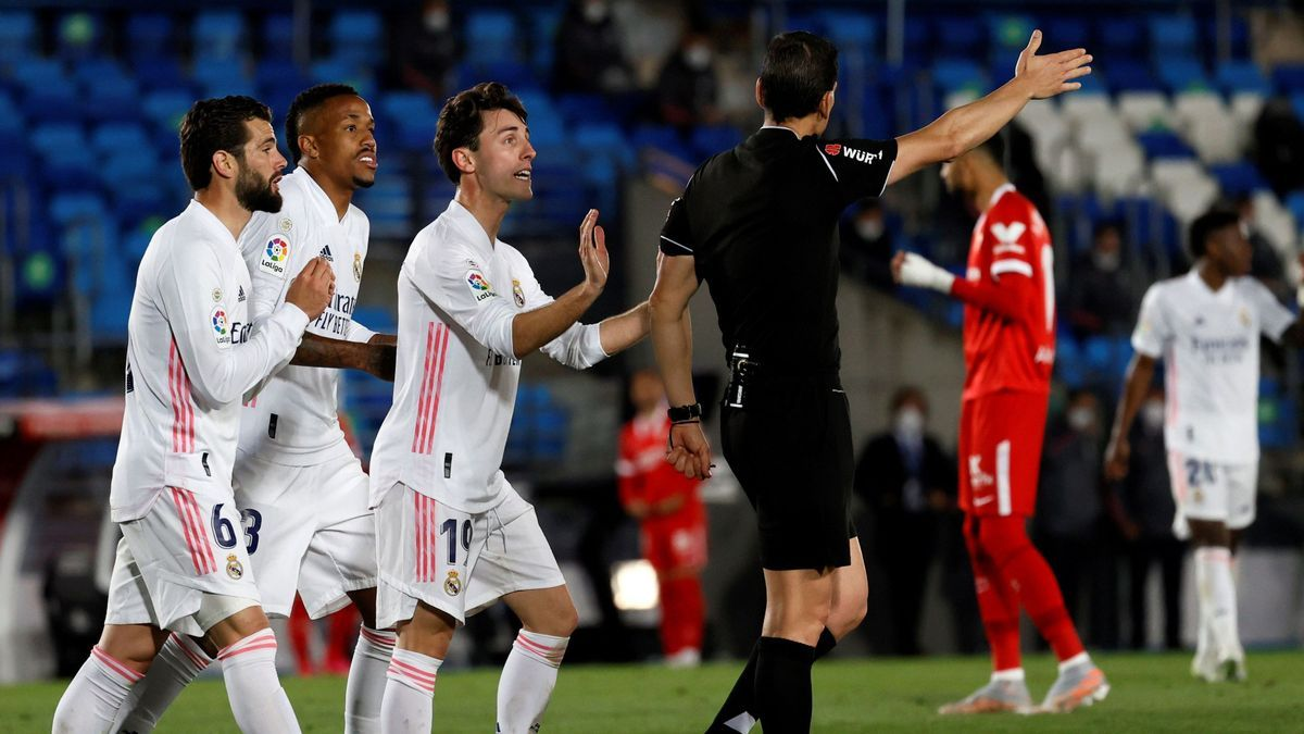Una imagen del Real Madrid - Sevilla