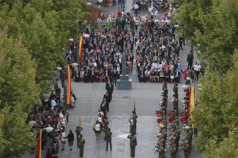 FOTOGALERÍA / Jura de bandera de personal civil en Córdoba