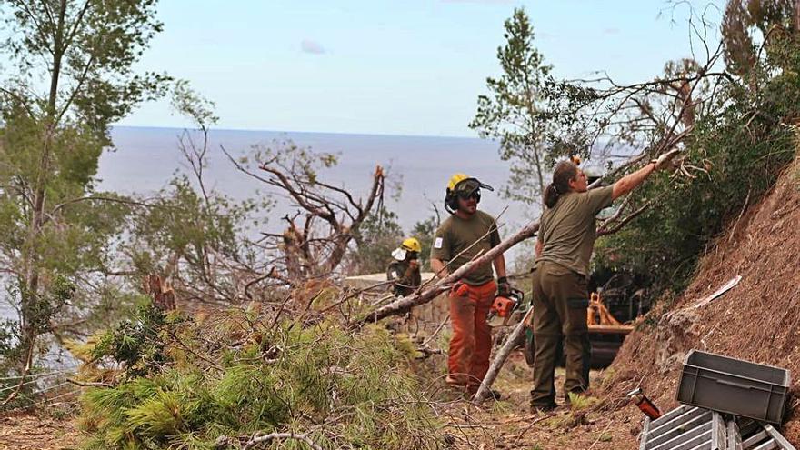 El Ibanat trabaja para reabrir la popular ruta de la Volta del General