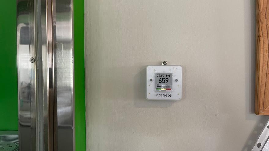 L'Hospital de Berga incorpora 10 mesuradors de CO2 com a mesura per minimitzar el risc de contagi de Covid-19