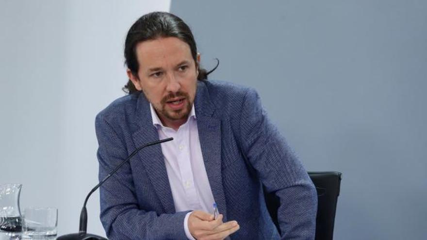 """Iglesias insiste: """"Juan Carlos I debe dar la cara"""""""