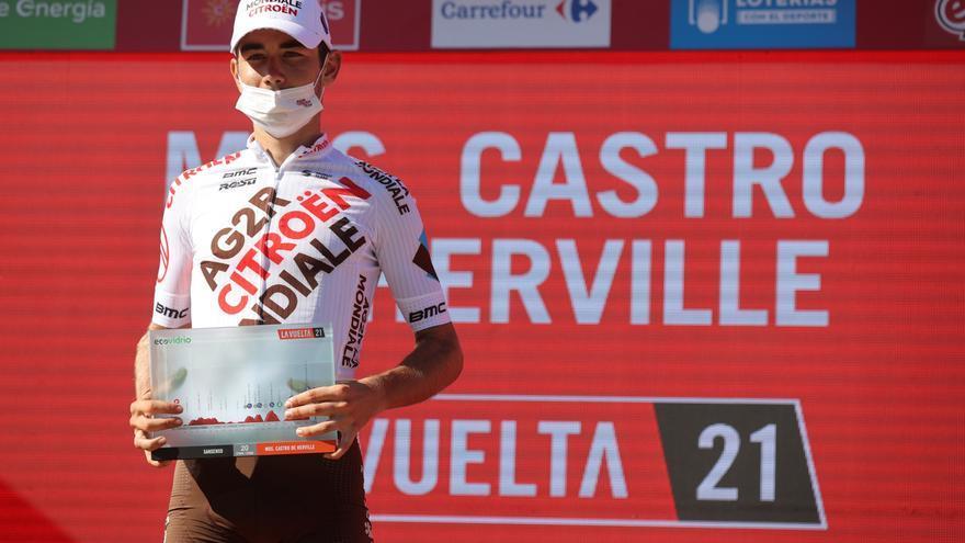 Ganador de la etapa 20 de la Vuelta a España 2021: Clément Champoussin