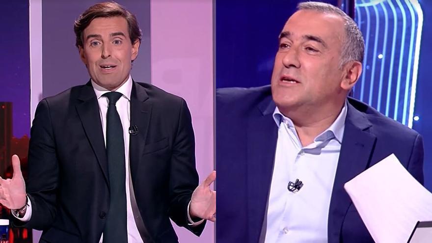 """Tensión entre Xabier Fortes y Pablo Montesinos en TVE: """"Me juego una cena con usted"""""""