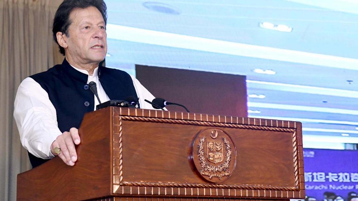 El primer ministro paquistaní, Imran Khan.