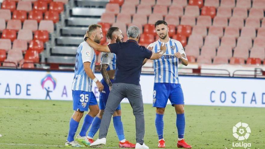 El Málaga de Pellicer es de play off