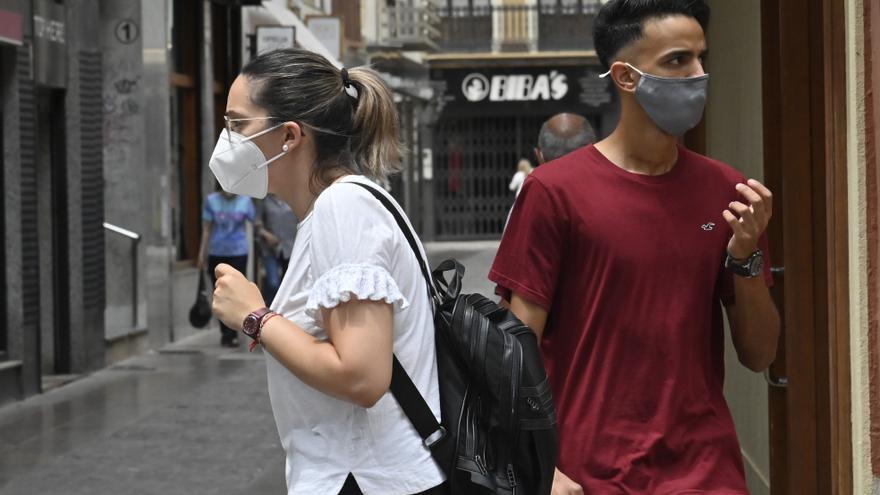 La demanda de mascarillas a fábricas de Castellón baja un 70%