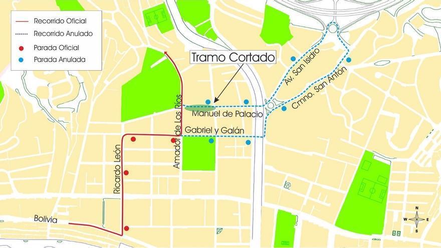 Cortan este domingo al tráfico la calle Manuel del Palacio