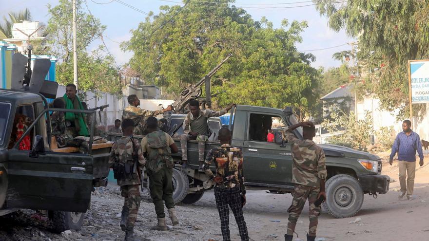 Somalia, en alerta por un intento de motín contra el presidente