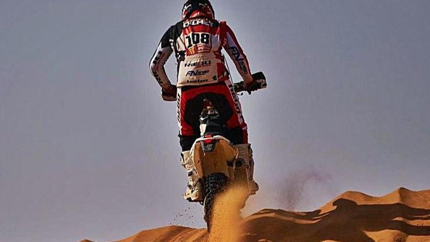 L'equip Rieju continua viu al Dakar i encara l'última setmana