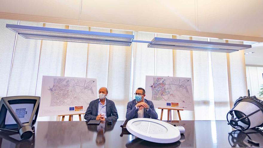 Benidorm inicia en la zona centro la renovación del alumbrado para alcanzar un 79% de ahorro energético