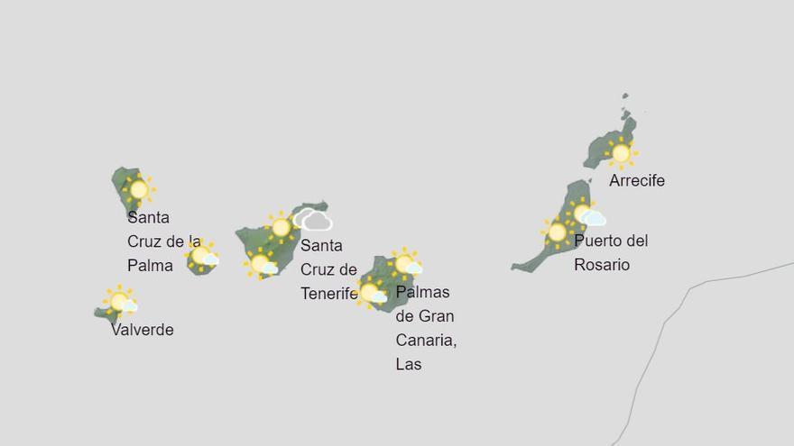 La borrasca 'Lola' dejará rachas de vientos en las zonas altas y lluvias débiles y ocasionales