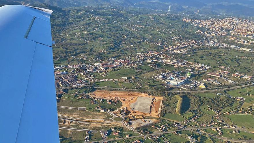 El centro de Amazon en Bobes superará las dimensiones de Parque Principado