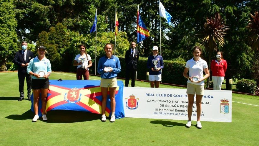 La mallorquina Lucía López roza el podio en el Campeonato de España