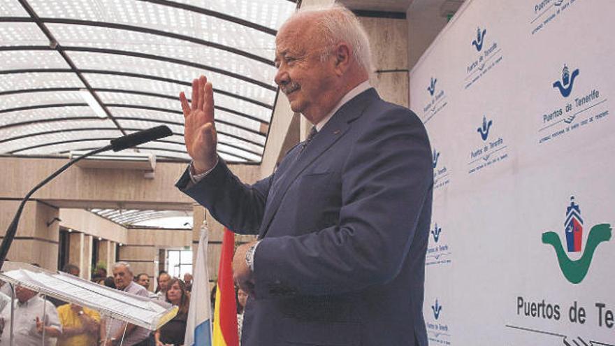 Melchior pide aplazar su declaración por presuntos delitos en la Autoridad Portuaria de Tenerife