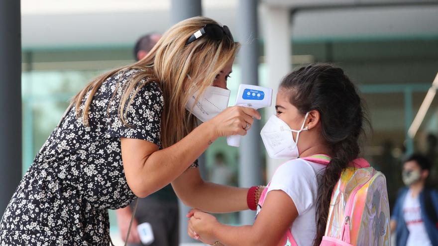 La mascarilla podría desaparecer de los patios escolares