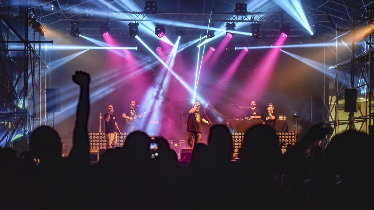 Concert de Lágrimas de Sangre al Vibra Festival