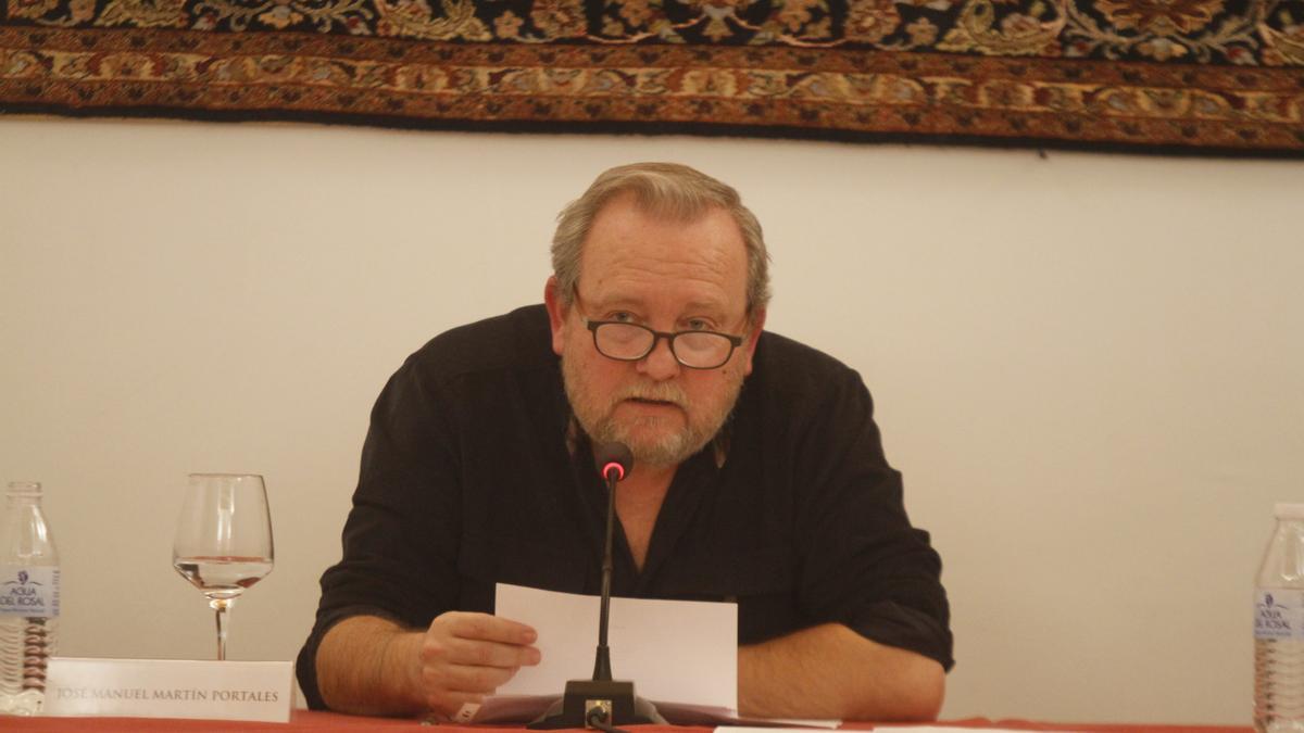 José Manuel Martín Portales, premio de Poesía Mario López.
