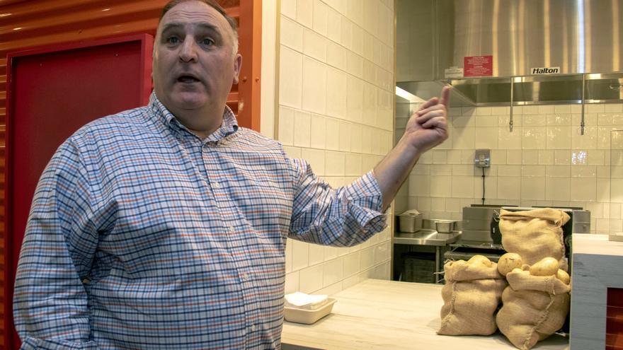 José Andrés, el cocinero de un imperio gastronómico pero también solidario