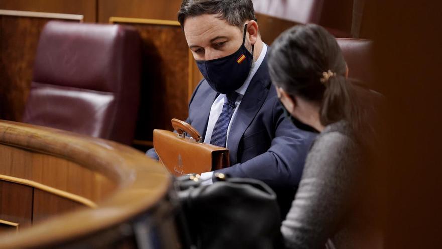 Segunda jornada de la moción de censura de Vox contra Pedro Sánchez