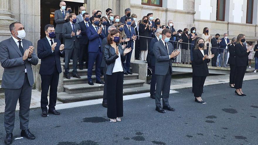 Galicia despide a Valeriano Martínez