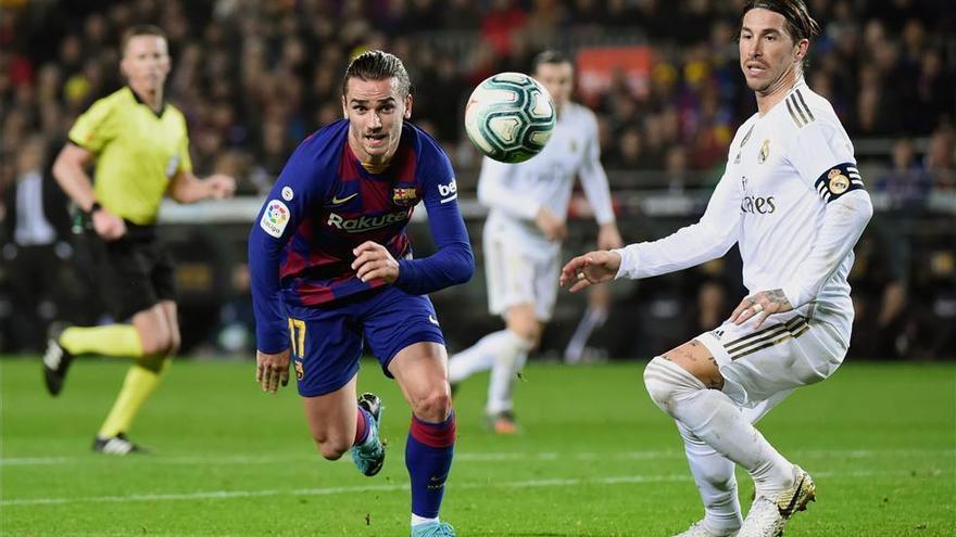 Máxima igualdad entre Barça y Real Madrid en el clásico (0-0)