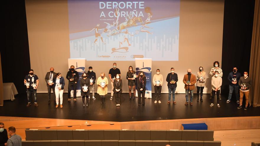 El deporte coruñés se reivindica
